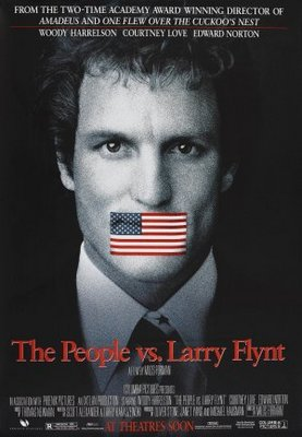 The People Vs Larry Flynt movie poster (1996) poster MOV_6b736409