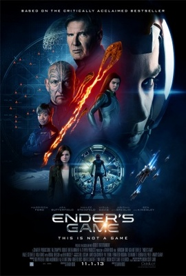 Ender's Game movie poster (2013) poster MOV_6b9811ae