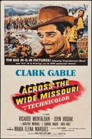 Across the Wide Missouri movie poster (1951) picture MOV_6b9d278a