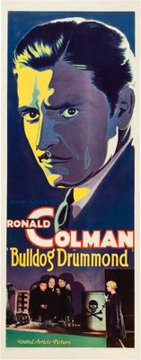 Bulldog Drummond movie poster (1929) poster MOV_6ba10144