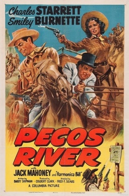 Pecos River movie poster (1951) poster MOV_6ba59469
