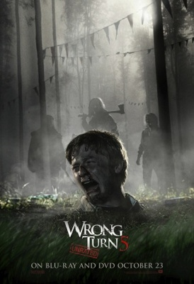 Wrong Turn 5 movie poster (2012) poster MOV_6bbac702