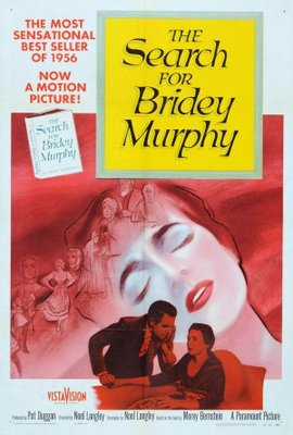 The Search for Bridey Murphy movie poster (1956) poster MOV_6be5fa93