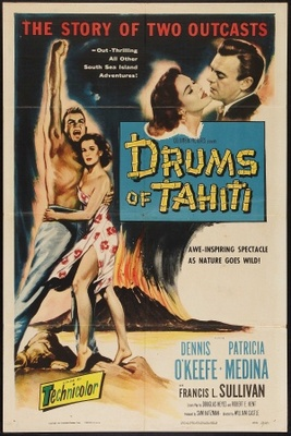 Drums of Tahiti movie poster (1954) poster MOV_6bf3b427