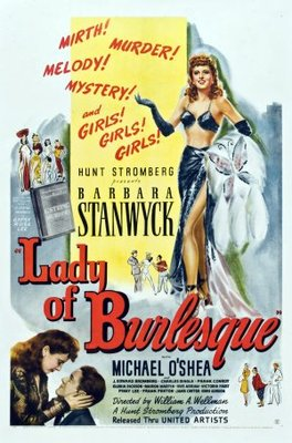 Lady of Burlesque movie poster (1943) poster MOV_6bf795dc