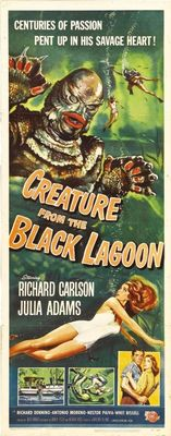 Creature from the Black Lagoon movie poster (1954) poster MOV_6bfebf56