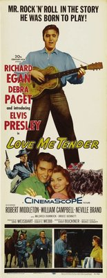 Love Me Tender movie poster (1956) poster MOV_6c03dec0