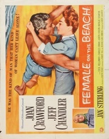 Female on the Beach movie poster (1955) picture MOV_6c313544