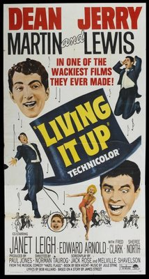 Living It Up movie poster (1954) poster MOV_6c3d6825