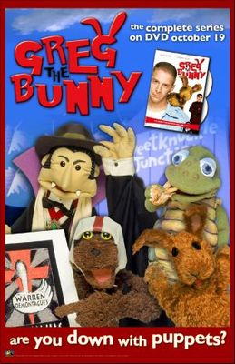 Greg the Bunny movie poster (2002) poster MOV_6c3e95dc