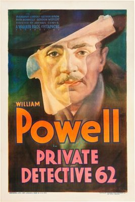 Private Detective 62 movie poster (1933) poster MOV_6c3fda51