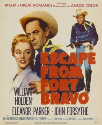 Escape from Fort Bravo movie poster (1953) poster MOV_6c50997f
