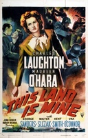This Land Is Mine movie poster (1943) picture MOV_6c6d971e