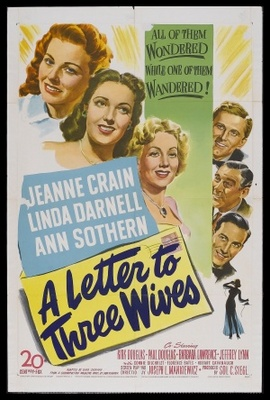 A Letter to Three Wives movie poster (1949) poster MOV_6c76432b