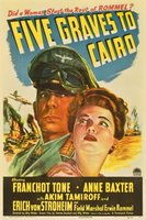 Five Graves to Cairo movie poster (1943) picture MOV_6c88c2f3