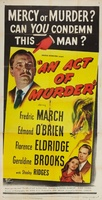 An Act of Murder movie poster (1948) picture MOV_6c9c6aa7