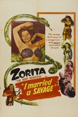 I Married a Savage movie poster (1949) poster MOV_6cc3b7b6