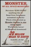 20 Million Miles to Earth movie poster (1957) picture MOV_b3f2999b