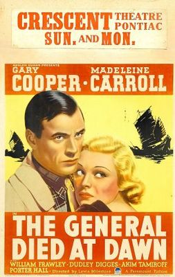 The General Died at Dawn movie poster (1936) poster MOV_6cf1e34a