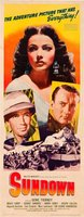 Sundown movie poster (1941) picture MOV_6cf6cbe1