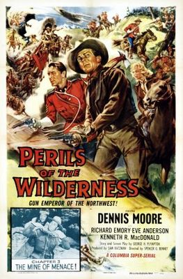 Perils of the Wilderness movie poster (1956) poster MOV_6d009c72