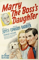 Marry the Boss's Daughter movie poster (1941) picture MOV_6d07e2e4