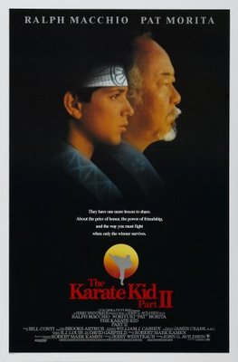 The Karate Kid, Part II movie poster (1986) poster MOV_6d23a355
