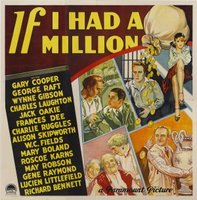 If I Had a Million movie poster (1932) picture MOV_6d29c957