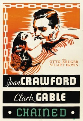 Chained movie poster (1934) poster MOV_6d2e4269