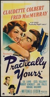 Practically Yours movie poster (1944) picture MOV_6d3a54e4