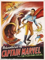 Adventures of Captain Marvel movie poster (1941) picture MOV_6d407208