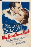 My Love Came Back movie poster (1940) picture MOV_34352b74