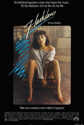 Flashdance movie poster (1983) poster MOV_6d5d4aad