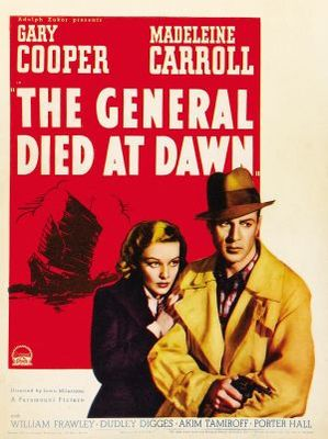 The General Died at Dawn movie poster (1936) poster MOV_6d62d3be