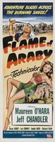 Flame of Araby movie poster (1951) picture MOV_6d63cdd1