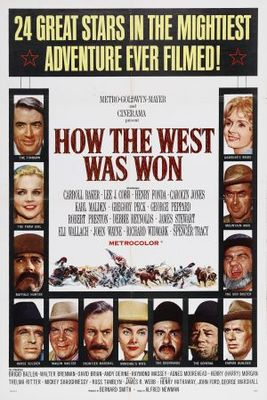 How the West Was Won movie poster (1962) poster MOV_6d640fae