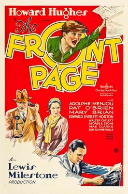 The Front Page movie poster (1931) poster MOV_6d7e0f57
