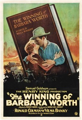 The Winning of Barbara Worth movie poster (1926) poster MOV_6db87078