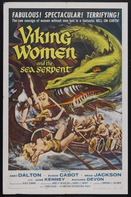 The Saga of the Viking Women and Their Voyage to the Waters of the Great Sea Serpent movie poster (1957) poster MOV_6dc7cf8d