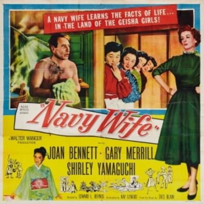 Navy Wife movie poster (1956) poster MOV_6ddd62d2