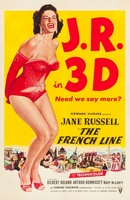 The French Line movie poster (1953) picture MOV_6dde328a