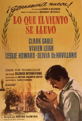 Gone with the Wind movie poster (1939) poster MOV_6de4eee1