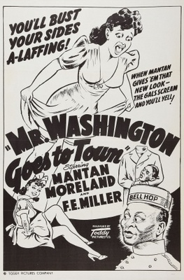 Mr. Washington Goes to Town movie poster (1941) poster MOV_6df676c7