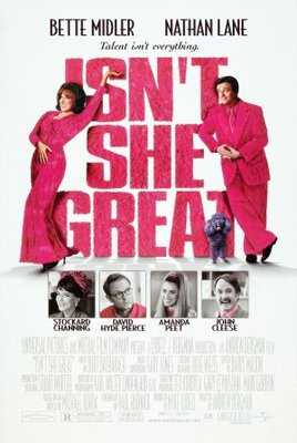 Isn't She Great movie poster (2000) poster MOV_6e077276