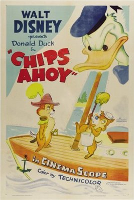 Chips Ahoy movie poster (1956) poster MOV_6e10ab8c