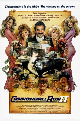 Cannonball Run 2 movie poster (1984) poster MOV_6e235832