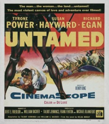 Untamed movie poster (1955) poster MOV_6e4cba55