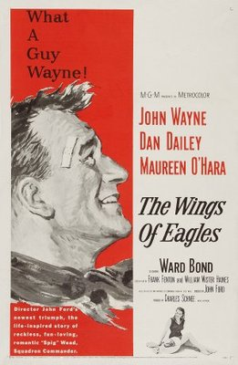 The Wings of Eagles movie poster (1957) poster MOV_6e9759ad