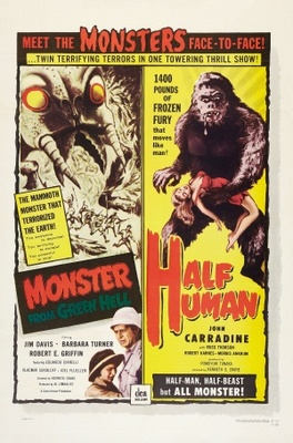 Monster from Green Hell movie poster (1958) poster MOV_6ebba80c