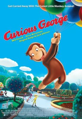 Curious George movie poster (2006) poster MOV_6ed59c42